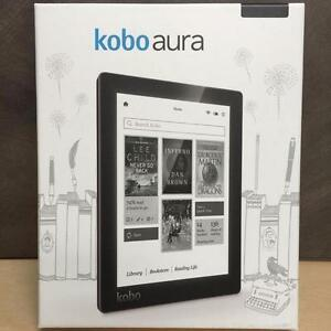 "Kobo Aura 6"" Digital eBook Reader With Touchscreen 4 GB WIFI - Black"