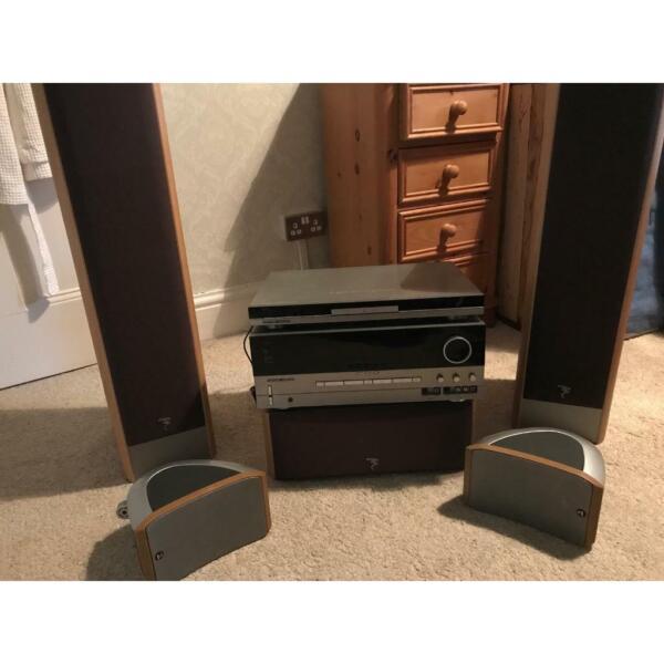 Harmon Kardon surround sound x5 setup & H/K amp  for sale  Stockport, Manchester
