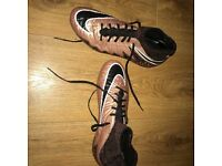 Nike Hyervenom Bronze Football Boots Junior Size 4