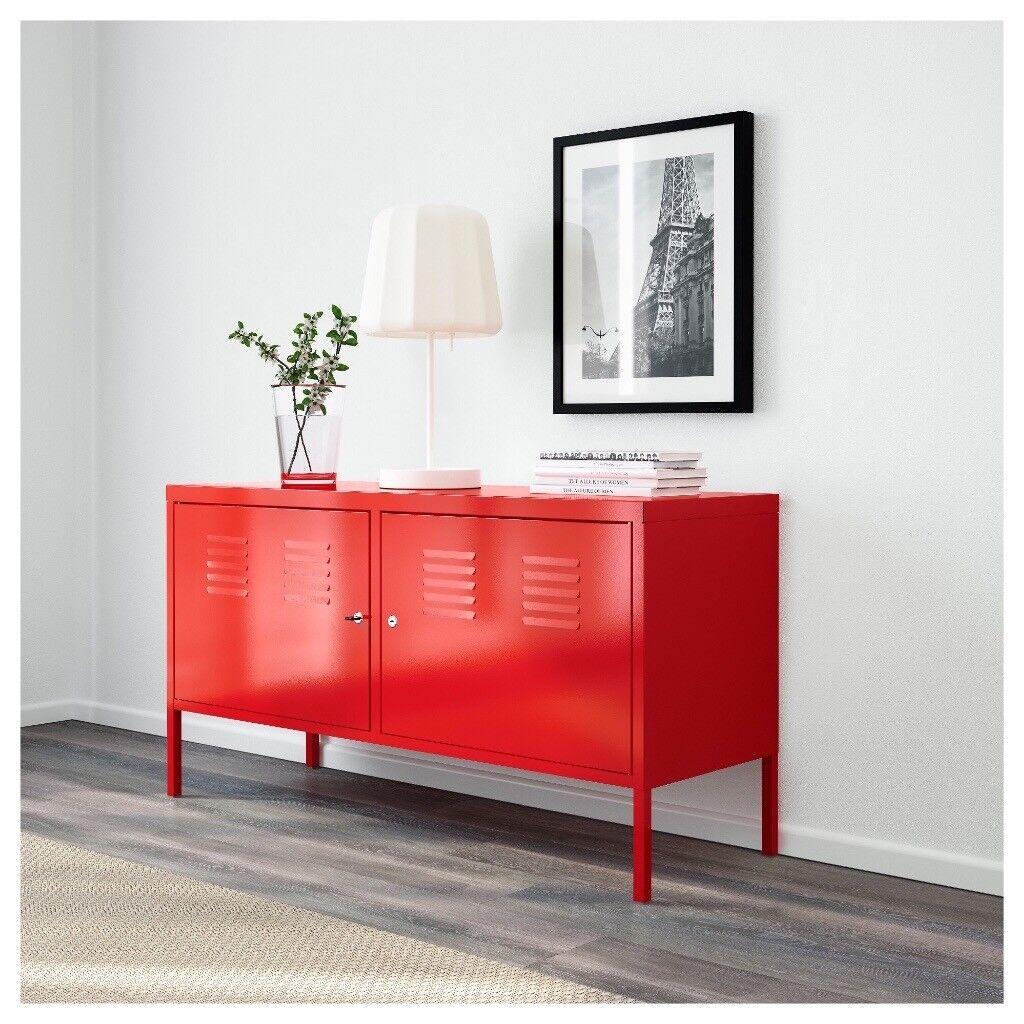 Tv Storage Cabinet Ikea Red Metal In East Dulwich London  # Ikea Meuble Tele Metal