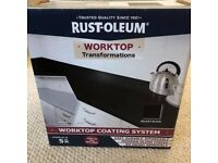 Rust-Oleum Worktop Transformation - Galaxy Black