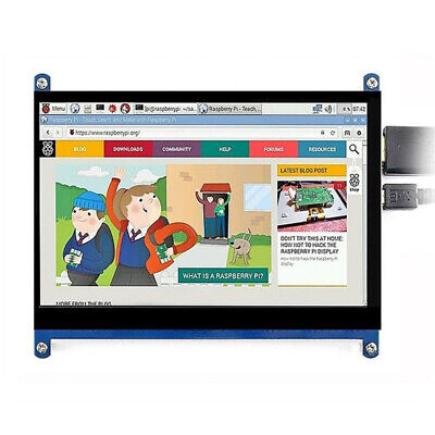 7inch Lcd 1024x600 Ips Screen Capacitive Touch Display For Raspberry Pi