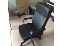 IKEA MALKOLM office chair + two desks