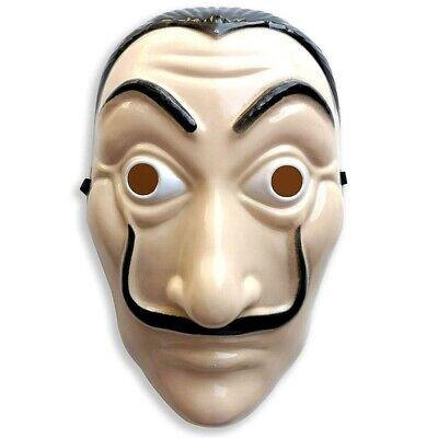 Salvador Dali Money Heist The House of Paper La Casa De Papel Anonymous Mask New