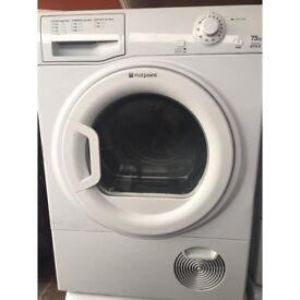 Hotpoint TCYM750C 7.5kg White Condenser Tumble Dryer 1 YEAR GUARANTEE