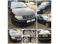 Saab 9-3 Linear Spt A flow TID Diesel 2005 1.9 Black Bonnet all car parts available