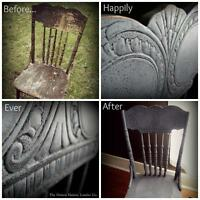 Transform Furniture with Milk Paint