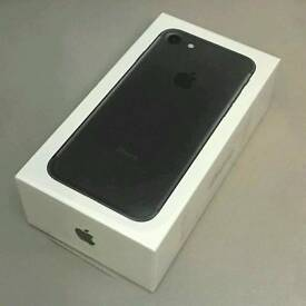 IPhone 7 32gb jet black on o2