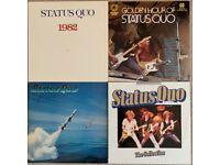 Status Quo - 4 LP's / Records / Albums
