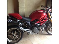 Ducati monster 1078cc. Excellent condition