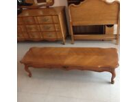 Beautiful Hand Carved Rococo Style Louis XV French low Table