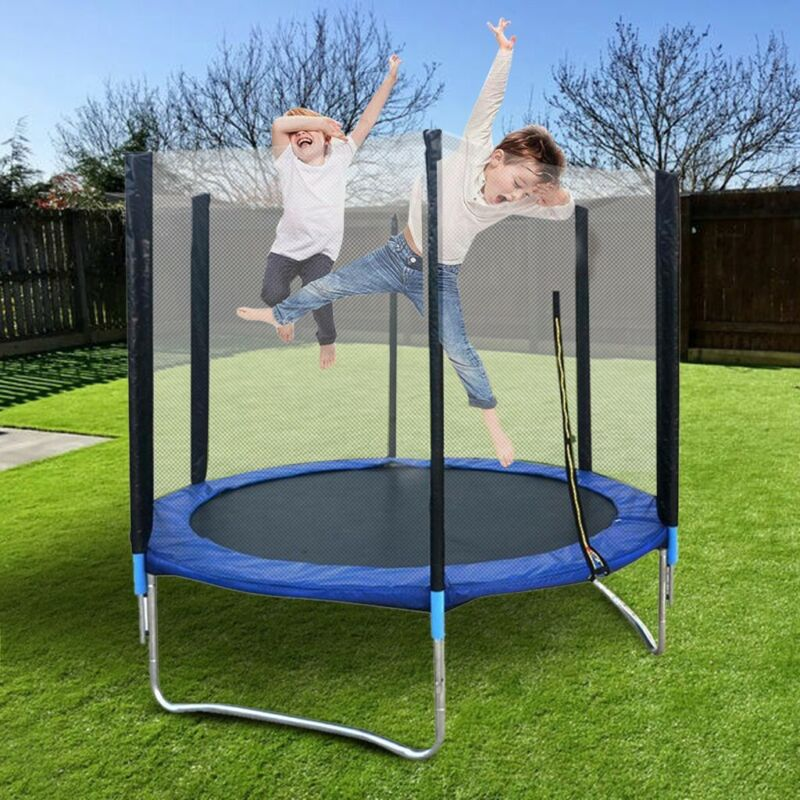 6FT Out/Indoor Jumping Youth Kids Trampoline Exercise Safety