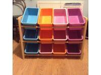Girls storage drawer unit