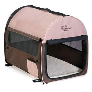 Petmate 25285 Portable Pet Home, Extra Large (Dark Taupe/Coffee Grounds Brown)