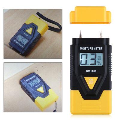 Mini 3 In 1 Wood Building Material Timber Digital Damp Moisture Detector Tester