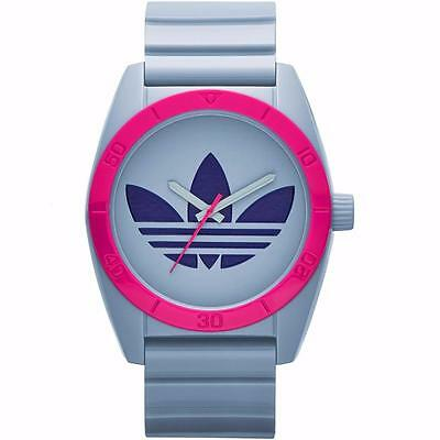 NEW ADIDAS UNISEX ORIGINALS SANTIAGO GRY DIAL COLOUR WATCH ADH2871