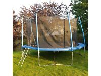 14FT round trampoline with safety net