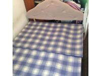 Base and mattress dabble size free collection
