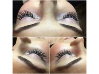 Individual Eyelash Extensions and Make Up Artistry Services