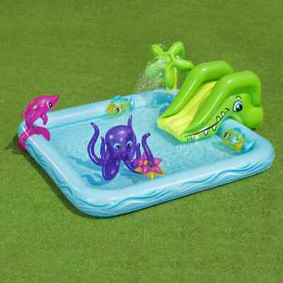 Bestway Fantastic Aquarium Play Center Inflatable above Ground Swimming Pool