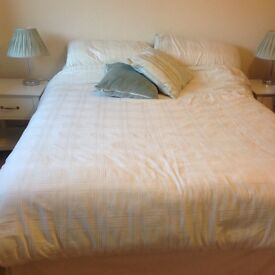 Double Divan bed and mattress
