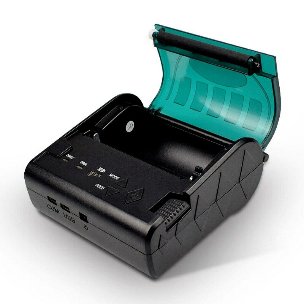 80mm Portable mini printer IOS and Android esc//pos mobile and portable 80mm thermal printer value for money and reliable with good quality printer perfect for Loyverse and other free pos systems