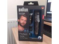 Braun Face & Head Trimming kit