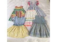 Mini Boden, Next, Mothercare 5 x dress bundle Age 2-3