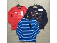 Boys 4-5yrs brand new tops bundle - new with tags