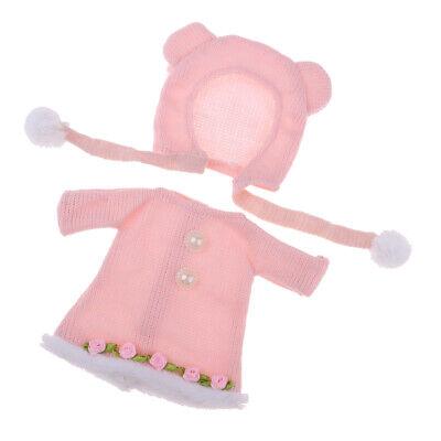 Puppe Kleidung für 25 CM MellChan Puppe Rock w / Hut Puppe Kostüm Accs