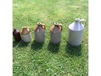 5 cider falgons 4 different sizes in very good condition