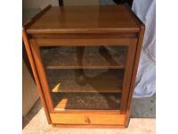 Nathan Teak HIFI Cabinet W:52cm x D:45cm x H:75cm