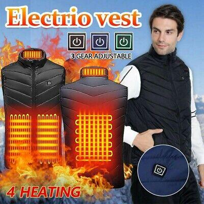 Gilet riscaldante elettrico USB riscaldato Unisex Giacca termica riscaldamento