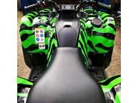 Yamaha grizzly quad bike 550 4x4 not honda Kawasaki