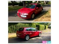 Superb ALFA ROMEO 147 with Low Miles, Full Service History & Long MOT + Half A Tank Of Fuel
