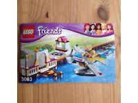Lego Friends Flugschule mit Wasserflugzeug Niedersachsen - Hatten Vorschau