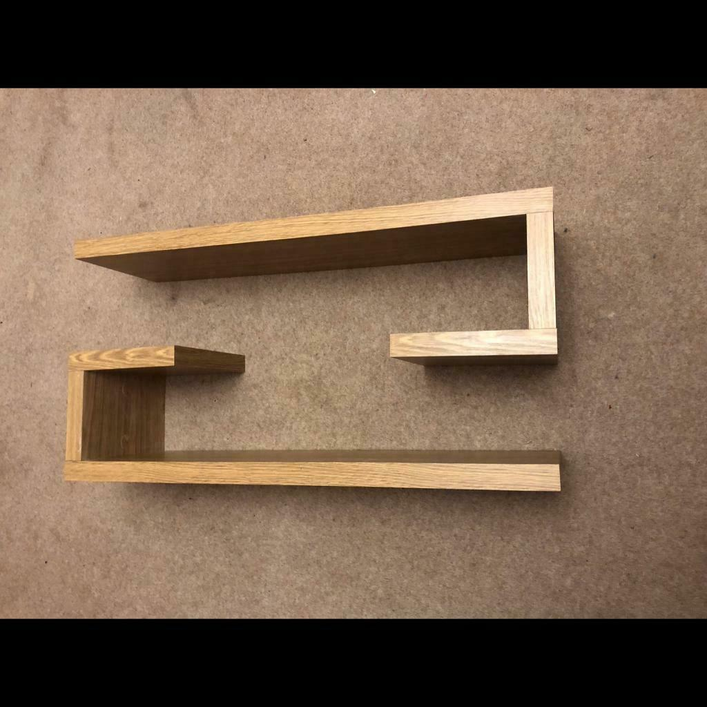 quality design 0f132 6e765 Light oak floating shelves from NEXT | in Blackburn, Lancashire | Gumtree