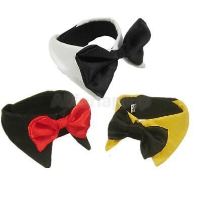 1x Mode Hund Katze Krawatte Fliege Bogen Hundefliege Hundekrawatte Halsketten