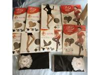 Stockings X 10 various colours