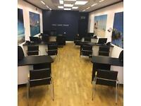 Desk (sold as set of 6) custom office desks in excellent confidence