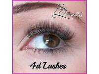 All volume lashes £35 this month!!