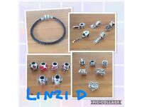 Pandora charms & bracelet £15 each