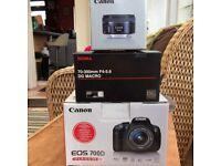Canon 700D - 3 lenses