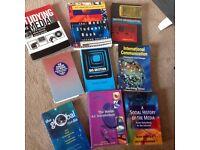Media student text books