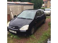 Honda Civic 1.4 se offers or swap