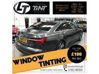 Car Window Tinting from £49 - Lifetime Warranty - Car Vinyl Wrapping - Paint Protection