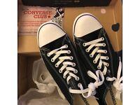 Converse Chuck Taylor Slim OX Black * NEW * size 11