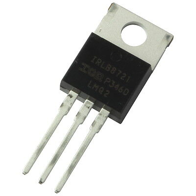 2 IRLB8721 International Rectifier MOSFET Transistor 30V 62A 65W 0,0087R 855690