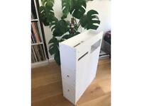 Slimline bathroom cabinet / toilet roll holder