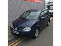 2004 VW touran 1.9tdi 6 speed 7 seater hpi clear clean drives perfect